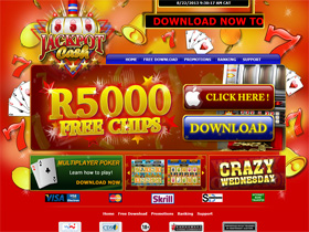 Play Online Blackjack at Jackpot Cash Casino