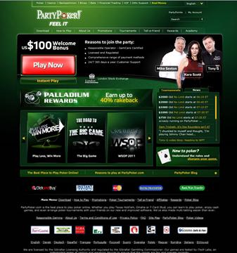 partypoker casino online